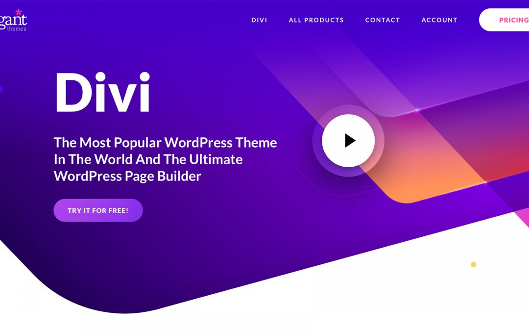 First Divi 4.0 Post